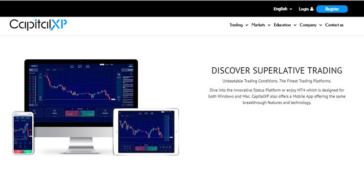 CapitalXP Trading-Plattformen