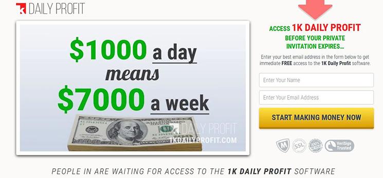 Warum mit 1K Daily Profit handeln?