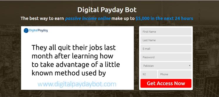 Was steckt hinter dem Digital Payday Bot?