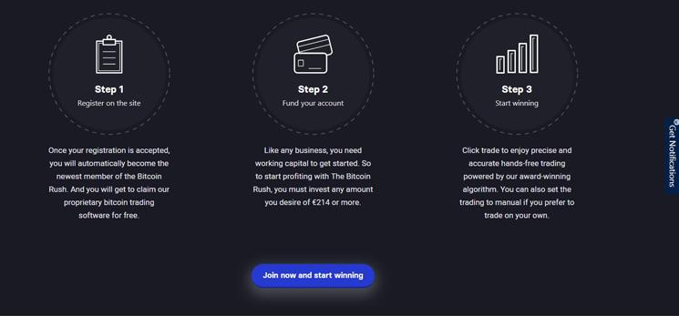 Vorteile der Bitcoin Rush App