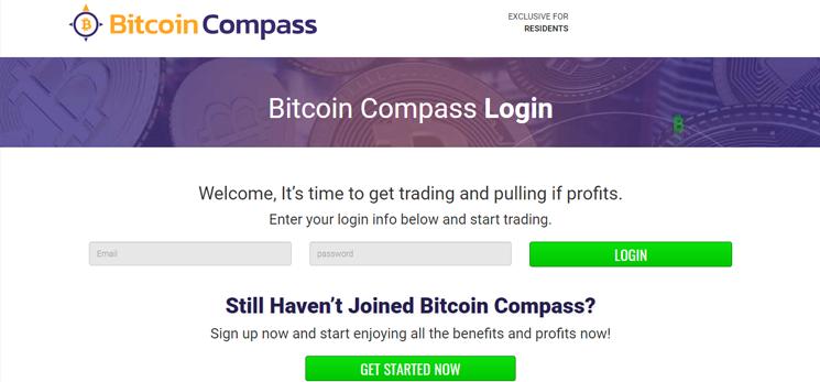 Die Bitcoin Compass App – Wie man ein Konto eröffnet und loslegen