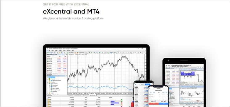 Welche Arten von Trading Plattformen sind verfügbar über eXcentral?