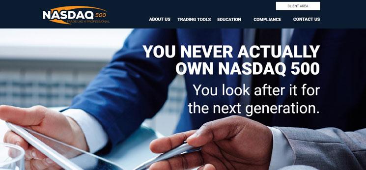Nasdaq500 Homepage