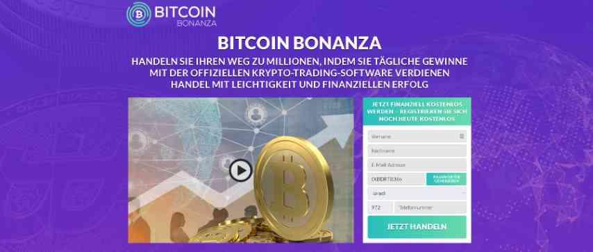 bitcoin bonanaza hoempage