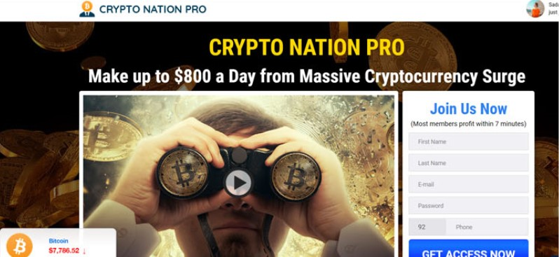 cryptonation homepage