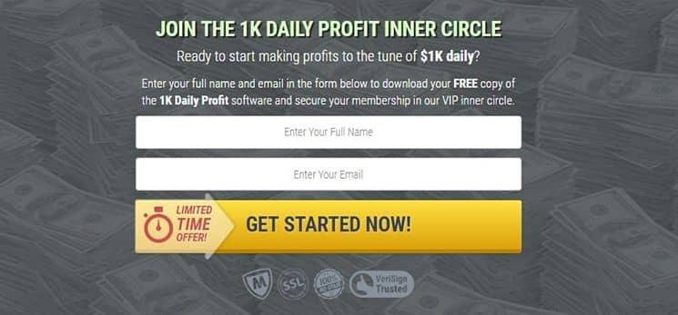 1K Daily Profit Software legitim oder Betrug