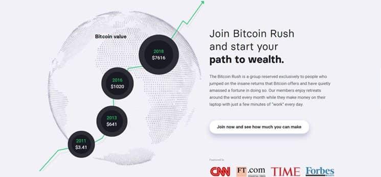 Bitcoin Rush Bewertungen
