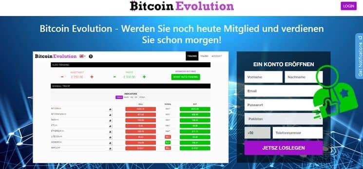 Bitcoin evolution Erfahrungen