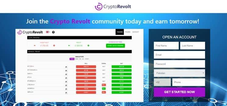 Crypto Revolt Test