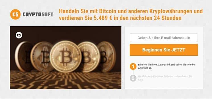 Ein Test mit der Demo auf der Website von Cryptosoft