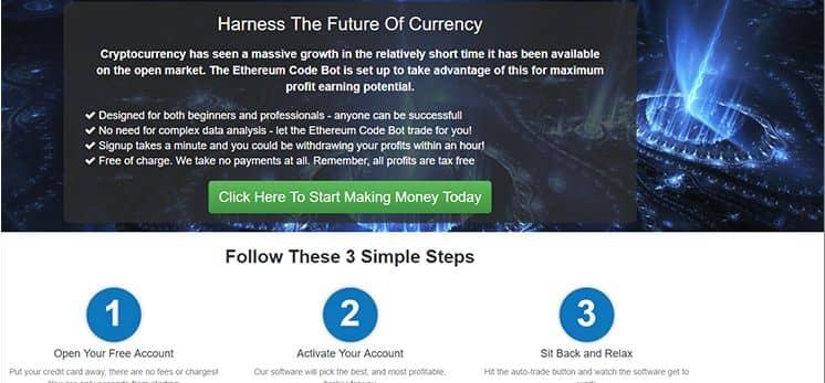 Ethereum Code Kryptowährungen handeln sollten
