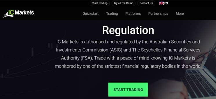 Ist IC Markets lizensiert und reguliert