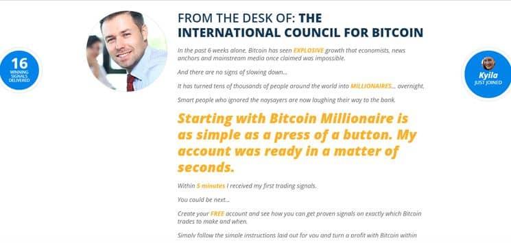 Wie funktioniert die Bitcoin Millionaire Software