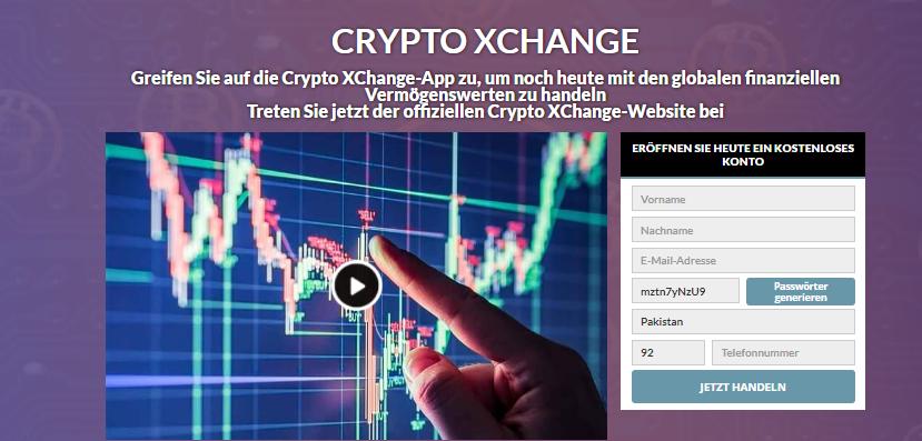 xhcange homepage